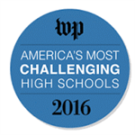 Washington Post Most Challenging School 2016 Logo