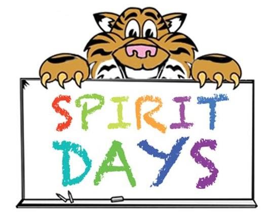 BSCSD Elementary Schools' March 2021 School Spirit Days
