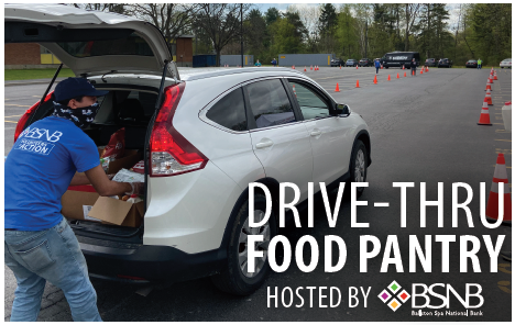 Drive-Thru Food Pantry - March 17, 2021